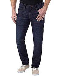 Izod - Comfort Stretch Straight Fit Jeans - Lyst