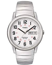 Timex - Easy Reader Day-date Expansion Band Watch - Lyst