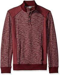 Calvin Klein - Jeans Cross Dye French Terry Crew Neck Sweatshirt - Lyst