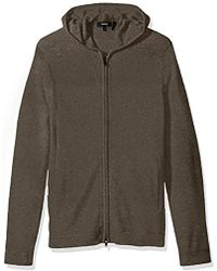 Theory - Kamero Sd Aires Fzip Hood - Lyst