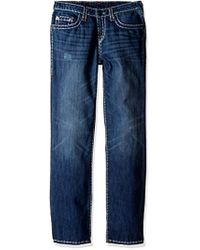 True Religion - Apparel Ricky Contrast Super T Jeans - Lyst