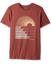Quiksilver - Short Sleeve Sust East Morning Glide Tee - Lyst