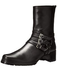 e5fc14dacb49 Lyst - Jimmy Choo Harley 30 Leather Cut-out Boots in Black