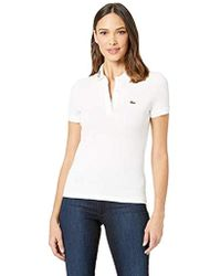 c45292c4 Lacoste Short Sleeve Slim Fit Keith Haring Semi Fancy Polo (white ...