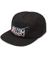 b5d9e58a920 Volcom - Tie Dye For 5 Panel Snapback Hat - Lyst