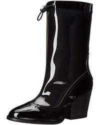 Love Moschino - Space Rainboot Rain Boot - Lyst