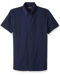 Kenneth Cole - Techy Shirt Front - Lyst