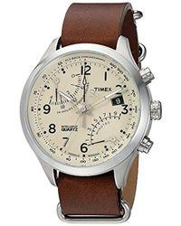 Timex - Intelligent Quartz Fly-back Chronograph Watch - Lyst