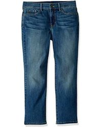 NYDJ - Petite Size Marilyn Relaxed Capri Jeans In Cool Embrace Denim - Lyst
