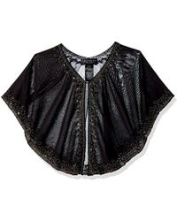 Laundry by Shelli Segal - Beaded Capelet - Lyst