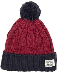 0838ae4fae6 Lyst - Timberland Slouchy Pompom Beanie in Green for Men