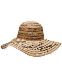 Michael Stars - S A La Playa Straw Floppy Hat - Lyst