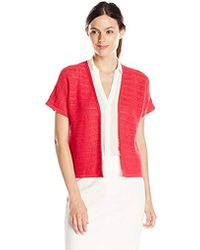 Jones New York - Dolman Open Cardigan Sweater - Lyst