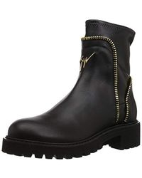 Giuseppe Zanotti High Ankle Boots - Black