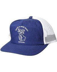 5c8844f9 Jungle Bucket Hat Black. $85. Tessuti UK · Rip Curl - Floater Trucker - Lyst