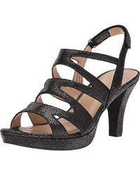 7ebebbe0ad63 Lyst - Naturalizer Pressley Platform Dress Sandal in Brown