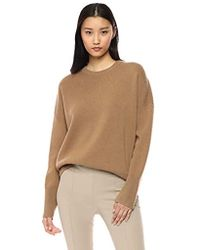 Theory - Relaxed Drop Shoulder Crewneck Sweater - Lyst