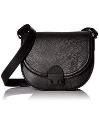 Loeffler Randall - Saddle Tumbled Leather Saddle Cross-body Bag - Lyst