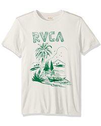 RVCA - Getaway Short Sleeve Tee - Lyst