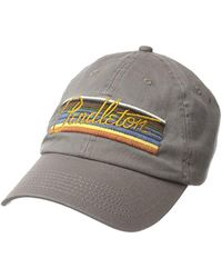 a9b61235196 Pendleton - Unisex Olympic Park Stripe Embroidered Cap - Lyst