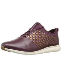 Cole Haan - 2.0 Studiogrand Weave Trainer Fashion Sneaker - Lyst