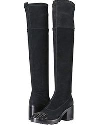 Sigerson Morrison - Gemma Over The Knee Boot - Lyst