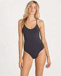 Billabong - Embroidered And Laser Cut One Piece Swimsuit - Lyst