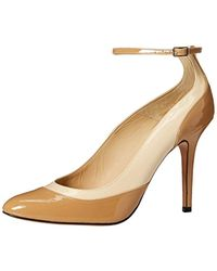 d30096a9c28 Charles David - Viola Pump With Ankle Strap - Lyst