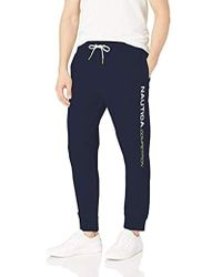 48d30f156 ECŌTHS Oliver Jogger Pants in Blue for Men - Lyst