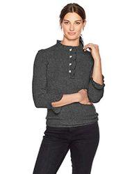 Lark & Ro - Sweaters Ruffle Cashmere Sweater - Lyst
