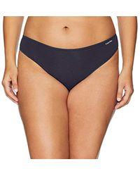 1c9ce5322e73b Lyst - Calvin Klein Snakeskin-print Bralette Bikini Top in Blue