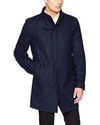 Calvin Klein - Milton Stand Collar Top Coat - Lyst