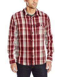 Alternative Apparel - Yarn Dye Flannel Logger Shirt-jack - Lyst