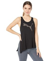 d1bead65a08 Lyst - PUMA Holiday Tie Tank Top in Black