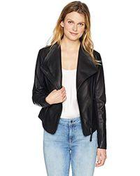 Mackage - Pina Leather Jacket - Lyst