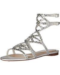 Imagine Vince Camuto - Vince Camuto Rettle Heeled Sandal - Lyst