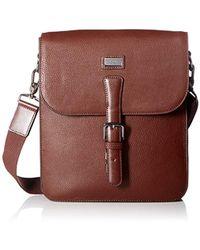 Ted Baker - Jagura Leather Flight Bag - Lyst