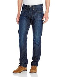 Lucky Brand - 121 Heritage Slim Fit Jean In Ol Occidential - Lyst