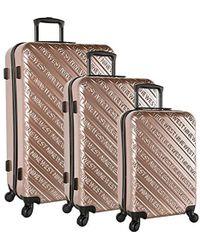 Nine West - Ninewest Luggage 3 Piece Hardside Spinner Luggage Set - Lyst