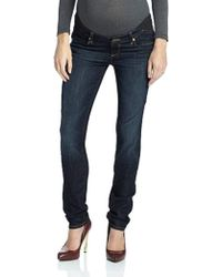 c9479bcec9b50 PAIGE Jimmy Jimmy Skinny Jeans - Dolly Embellished in Blue - Lyst