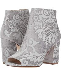 Nine West - Haywood Fabric Ankle Boot - Lyst