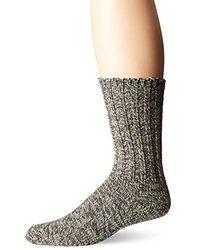 Woolrich Merino Solid Ragg Wool Sock - Gray