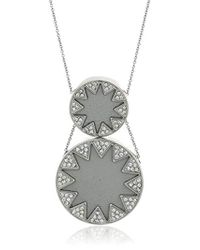 House of Harlow 1960 - S Double Sunburst Necklace - Lyst