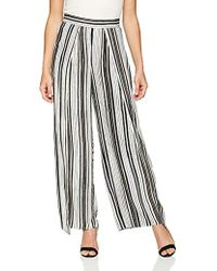 e27649307f1c Cupcakes And Cashmere - Avah Wide Leg Pant With Slit Detail - Lyst