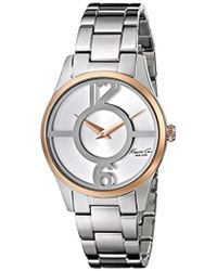 """Kenneth Cole - 10019637 """"classic"""" Stainless Steel Two-tone Watch (amazon Exclusive) - Lyst"""