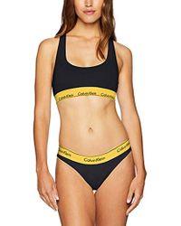 74622a6c1fbdd Lyst - Calvin Klein Modern Logo Bralette And Bikini Gift Set Qf1693 ...
