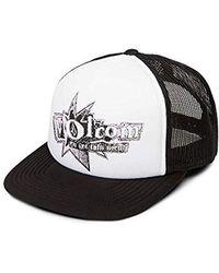 4b6062147ec Lyst - Volcom  nacho  Trucker Hat - Metallic in Black