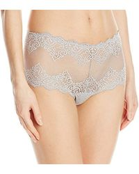 Only Hearts - So Fine Lace Cheeky Brief - Lyst