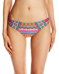 Laundry by Shelli Segal - Medallion Hipster Bikini Bottom - Lyst