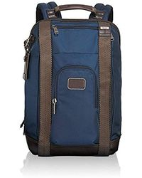 Tumi - Alpha Bravo Kirtland Continental Expandable Carry-on, Navy - Lyst